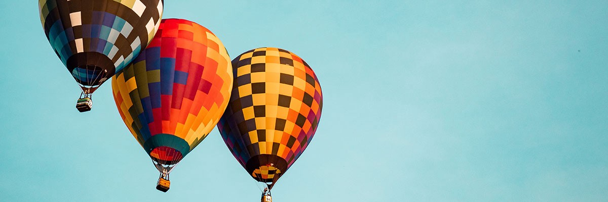 sky and air balloons